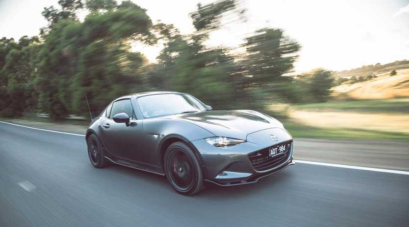 The 2018 Mazda MX-5 RF Limited Edition.