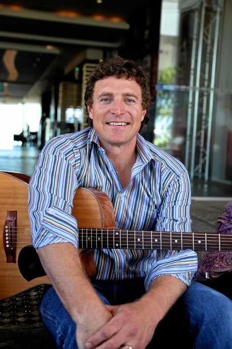 FAMILAR FACE: Josh Arnold of Small Town Culture travels around to most schools in regional Queensland, creating songs and music videos with the students.