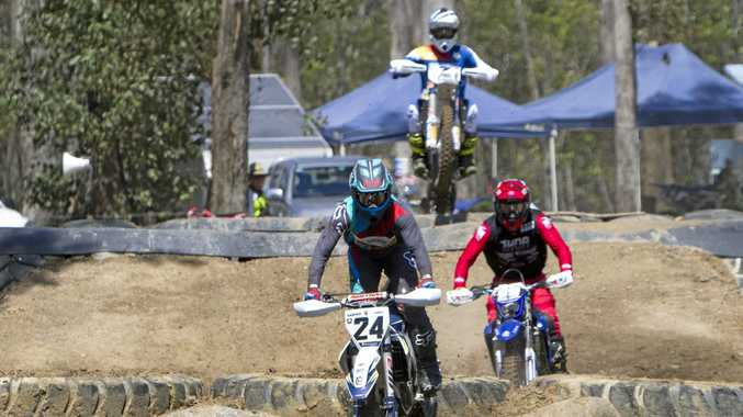 BIG HIT: The Keppel Coast Dirt Bike Club's premier event, the Yeppoon Enduro-X, was named Motorcycling Queensland's Event of the Year in 2017.