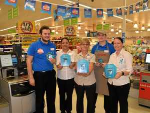 Coles turns teal for charity
