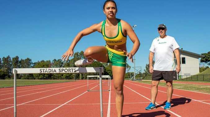GOOD CAUSE: Noosa Commonwealth Games hopeful Summer Johnson.