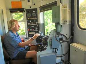 Global media tracks solar train