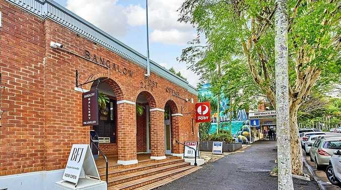 The free standing Bangalow Post Office Building located at 30 Byron Street is up for grabs for $2,150,000. Source: commercialrealesate.com.au