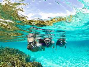 Safety first a must with snorkelling
