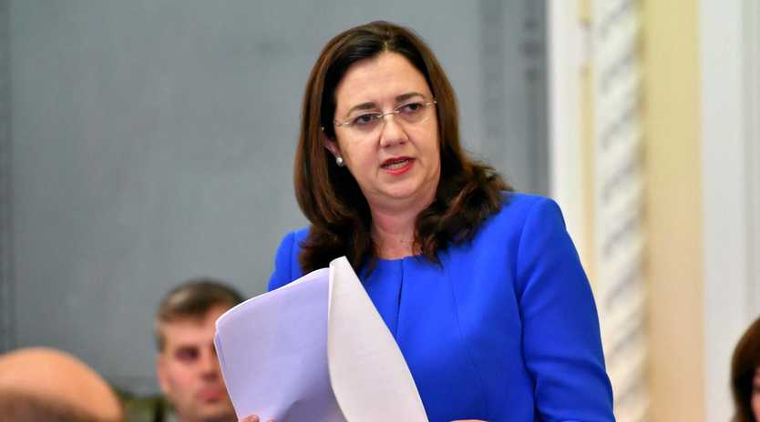 Queensland Premier Annastacia Palaszczuk addressed the New Acland approval and legal processes in Parliament House.