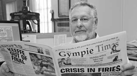 The Gympie Times Editor Nev McHarg.Photo Renee Pilcher / The Gympie Times