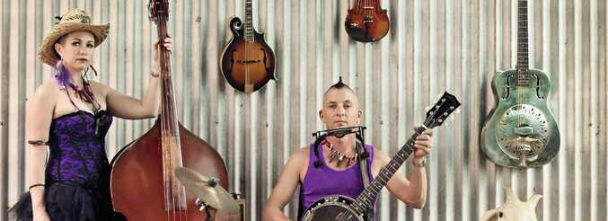UNIQUE SOUND: The Hillbilly Goats play old time Appalachian music with passion and energy.