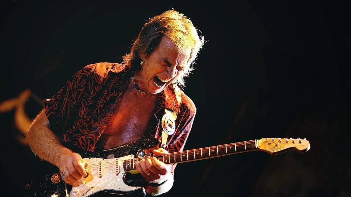 STILL ROCKING: Kevin Borich is still igniting audiences at 70 years old.