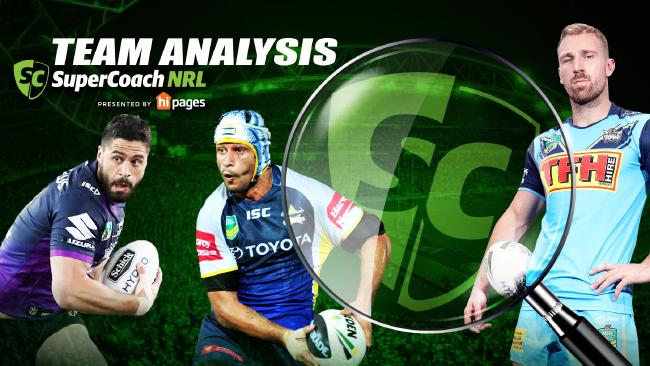 NRL SuperCoach teams analysis of weekend matches.