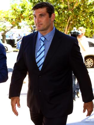 Former Gold Coast Titans player Dave Taylor. Picture: David Clark