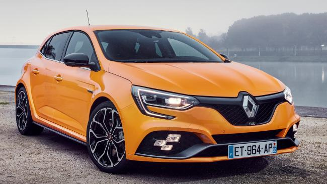 Megane RS: Five-door body and six-speed auto.