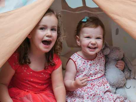 Holly and Talia love playing at the INS creche each day.