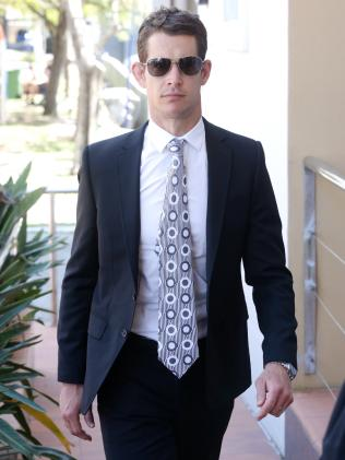Queensland State of Origin player Ashley Harrison had supply charges dropped. Picture: Liam Kidston.