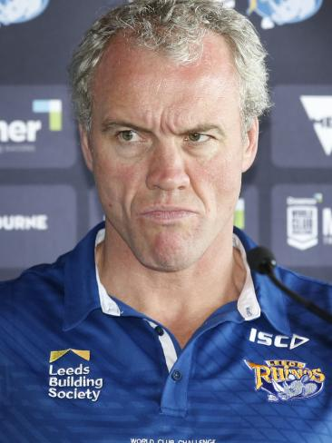 Leeds coach Brian McDermott is not happy with the WCC referee rule switch.
