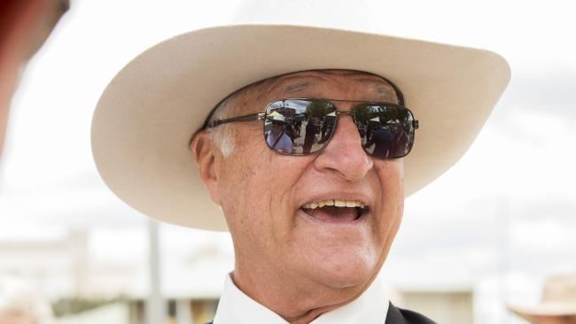 "Bob Katter: ""The Prime Minister venomously and without restraint, attacked the Deputy Prime Minister,"" he said. Picture: Lachie Millard"