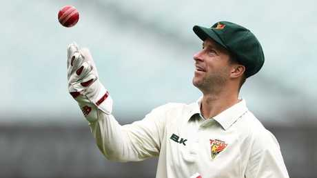 Matthew Wade could give up the gloves to play as a specialist batsman. (Robert Cianflone/Getty Images)