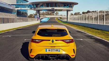 Megane RS: At launch at the Jerez track in Spain.