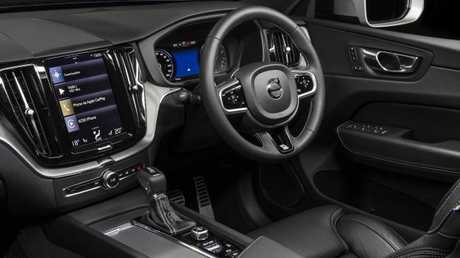 The Volvo XC60 has an uncluttered and smartly done interior.