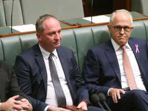 Barnaby Joyce lashes out at PM