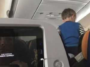 Flight from hell with 'demonic' child