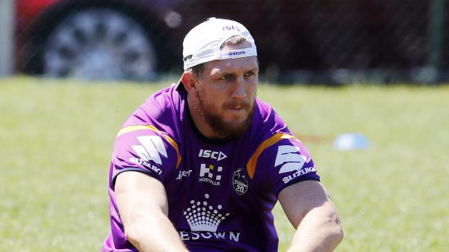 Ryan Hoffman is back at the Storm. Pic: Michael Klein