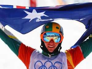 Aussie Hughes wins silver