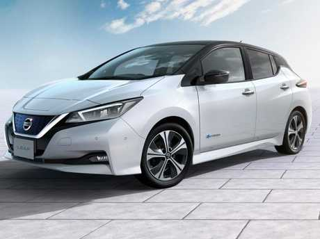 The latest version of the Nissan Leaf has a less futuristic design and is more practical.