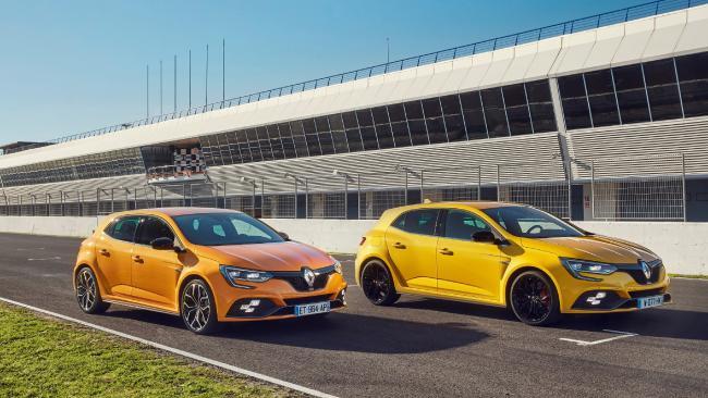 2018 - Essais presse Nouvelle Renault MEGANE R.S. en Espagne