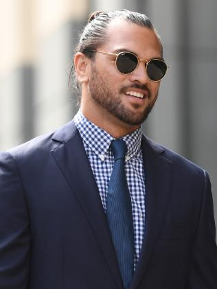 Queensland Reds rugby union player Karmichael Hunt pleaded guilty to possession of cocaine. Picture: AAP Image/Dan Peled