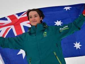 Aussie silver! Hughes upstages snowboard stars