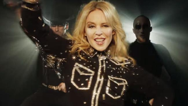 Kylie Minogue's new music video for her new single