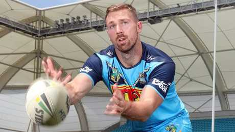 Bryce Cartwright makes his Titans debut this weekend. Picture: Richard Gosling