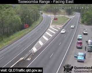 Take care on the Toowoomba Range.