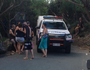Woman falls 10m onto rocks at Point Cartwright