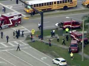 Florida school shooting: Gas mask killer guns down 17 in bloodbath