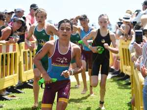 Qld State School Triathlon Junior Race