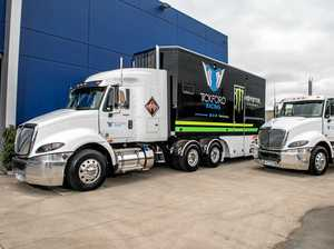 Tickford Racing, International Trucks team up on race track
