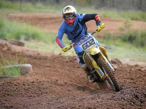 Warwick secures state round in motocross at Morgan Park