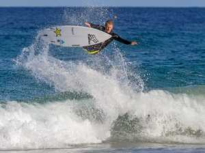TOP GUN: Despite retiring from the World Tour, Surfing Australia's National Coach Bede Durbidge will surf   at Newcastle.