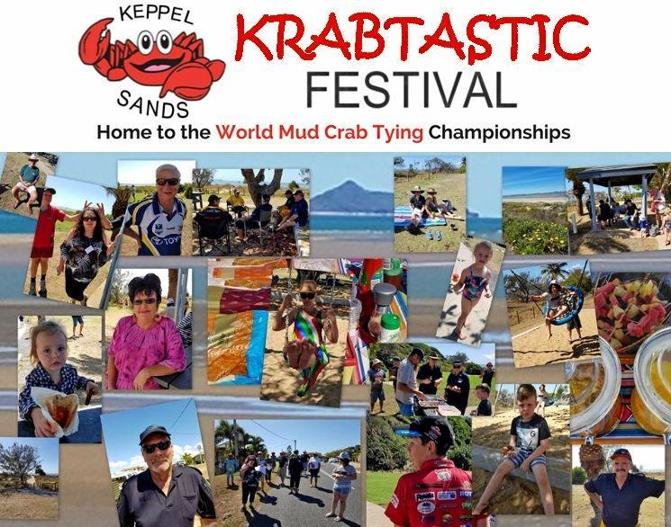 Previous visitors to the Keppel Sands Krabtastic Festival.