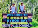 FOR THE BOYS: After losing a good mate to suicide, Byron Bay Magpies mates Bobby Walker and Andrew Fyffe have created For the Boys, a 305km walk from Noosa to Byron to raise awareness of and break the stigma around male mental health.