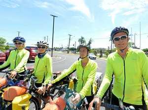 Family sells up to ride around Australia