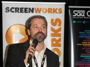Screenworks General Manager Ken Crouch.