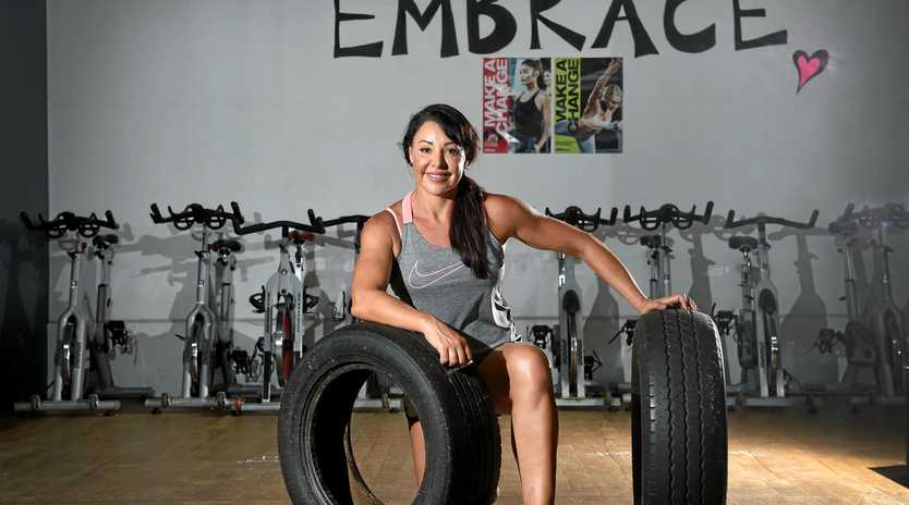 TOUGH CUSTOMER: Having not long finished chemotherapy, Janelle Ware is now gearing up for the Lismore Samson Fitness Challenge next month.