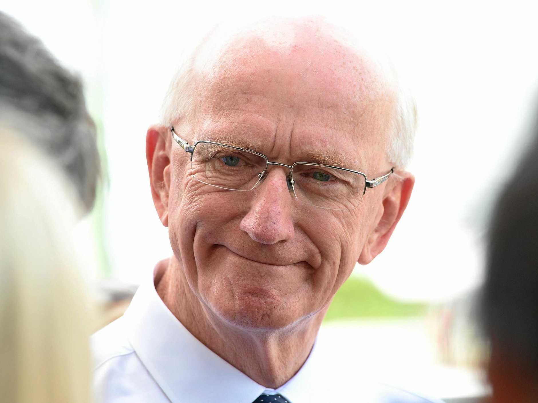 Former Fraser Coast mayor Chris Loft will spend six months