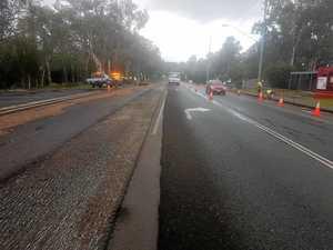Weyba Rd roadworks switch to night time