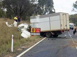 WATCH: Signage questioned after violent crash