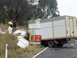 WATCH: Signage questioned after violent crash