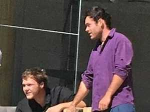 DOUBLE TROUBLE: Arsonists Dylan Foster, 19 and Hayden Kent, 22, right, at Ipswich District Court.