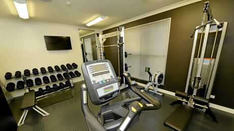 Improved facilities including a gym will be available for use by firefighters at the Bundamba
